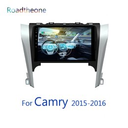 Digital Stereo Systems Australia - for Camry Toyota 2015-2016 7th generation XV50 10.1 inch car multimedia player capacitive touch screen android 8.1 system car dvd