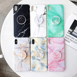 Light marbLe online shopping - New Design Soft TPU Cover Marble Case for iPhone XS Max XR X S Plus With Bracket