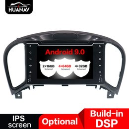 nissan android gps dvd UK - DSP Android 9.0 Car DVD Player for Nissan Juke Infiniti ESQ 2011-2017 GPS Navigation auto Stereo multimedia unit tape 64