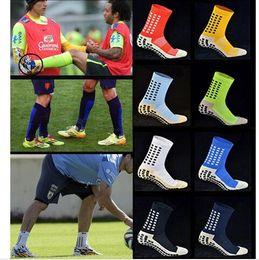 ce80fe86bd2b Trusox Socks Australia - Hot Sale Tocksox Soccer Socks Anti Slip Trusox Mid- calf Cotton