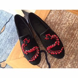 $enCountryForm.capitalKeyWord NZ - 2019 Top quality women dress shoes, black velvet shoes fashion casual loafers shoes,original box and dust bag