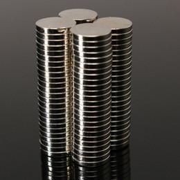 Neodymium Magnets 8mm Australia - 250pcs Dia 8mm x 1mm Small Thin Neodymium Magnet Magnets N52 Fridge Magnetic Materials Home Decorations