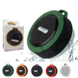 $enCountryForm.capitalKeyWord Australia - C6 Speaker wireless Bluetooth Speaker Potable Audio Player Waterproof Speaker Hook And Suction Cup Stereo Music Player With Retail Package