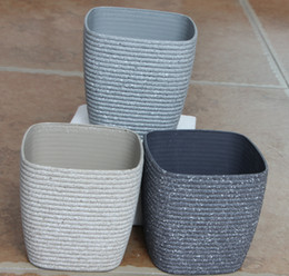 Epoxy Coating Wholesale Australia - Fashionable garden flowerpot, noble and elegant, strong three-dimensional surface, touch comfortable, environmentally friendly materials