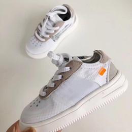 $enCountryForm.capitalKeyWord Australia - 2019 Low Designer Kids Shoes Off Infant Toddler 1 White Green Orange Children Chaussures pour enfants Boy Girls Sports Sneakers 22-35