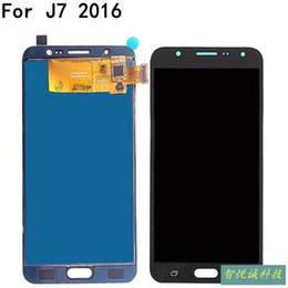 $enCountryForm.capitalKeyWord NZ - Original LCD For Samsung Galaxy J7 C65 C6 C7 S8 S8+ N8 N7 Prime LCD Display Touch Screen Digitizer Full Assembly Free Shipping