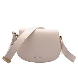 synthetic saddle NZ - Womens Classic Flap Pink Saddle Bag White Fashion Weekend High Quality City Small Crossbody Bags Leather Bag