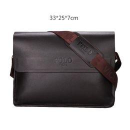 Genuine Leather Crossbody Handbags Wholesale Australia - Newest Designer Luxury Shoulder Bags man Genuine Leather briefcases men handbag bolsas messenger bag men wedding dress crossbody bag