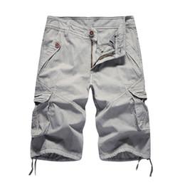 $enCountryForm.capitalKeyWord Australia - Cargo Men 2019 Summer Solid Army Military Shorts Homme 100% Cotton Soft Fashion Brand Clothing 30-40 Drop Shipping J190628