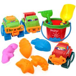 Toys & Hobbies 1pc Creative Sand Sandbeach Car Model Kids Beach Toys Water Tools Set Early Educational For Children Quality Toy Transportation Beach/sand Toys
