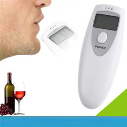 $enCountryForm.capitalKeyWord Australia - For Driving Electronic Alcohol Meter Breath Alcohol Tester LCD Display Portable Breathalyzer Analyzer Alcohol Detection With Retail Package