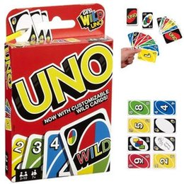 Chinese  UNO Card Games Wild DOS Flip Edition Board Game 2-10 Players Gathering Game Party Games Card Fun Entertainment manufacturers