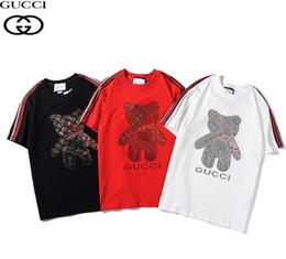 $enCountryForm.capitalKeyWord Australia - New Style Classic Vlone T-shirts Men Women High Quality Reflective Printing Big V Pop up Papking Fragment Top Tees Black white for Summer