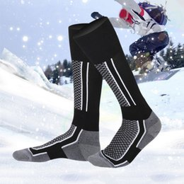 kids max NZ - Children Kids Winter Thermal Ski Socks Thicken Cotton Warm Socks Snowboarding Cycling Skiing Hiking Stocking Leg Warmer Socks