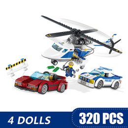 $enCountryForm.capitalKeyWord Australia - 320PCS Small Building Blocks Toys Compatible with Legoe High-speed Chase Gift for girls boys children DIY