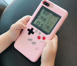 $enCountryForm.capitalKeyWord Australia - Game Machine Phone Case For Iphone 8 7 6s 6plus Xr Xs Xs Max Unique Fashion Cute Candy Pink Classic Back Case Coque