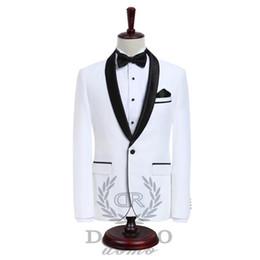 $enCountryForm.capitalKeyWord UK - Luxury Mens Suits Jacket Pants Formal Dress Men Suit Set Wedding Suits Groom Tuxedos (Jacket+Pants)