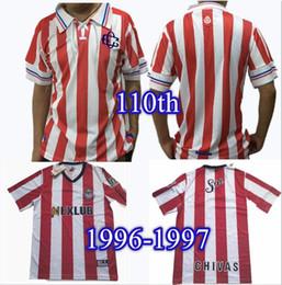 $enCountryForm.capitalKeyWord Canada - 110th Chivas Guadalajara soccer jersey 1996 1997 Chivas Vintage 110 Rayadas 96 97 classic retro football shirts