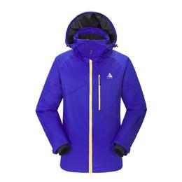 Waterproof Climbing Jacket Australia - Outdoor Men's Ski Suit Thickened Clean Warm Wear-resistant Waterproof Quick Dry Sports Climbing Ski Jacket For Men