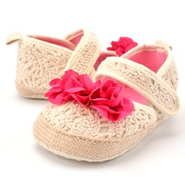 canvas slip shoes for kids 2019 - 2019 Shoes For Kids Solid Baby Shoes First Walkers Knitted Canvas Girls Boys Spring Newborn Children Solid Slip-On Mocca