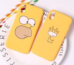 $enCountryForm.capitalKeyWord UK - Wholesale yellow and pink cartoon plant TPU soft cell phone cover for Iphone xr mas apple 7 8 plus with cheap price