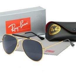 $enCountryForm.capitalKeyWord Australia - df Brand Sunglasses Designer Large new Metal Sun Glasses For Men Women Silver Mirror 56mm 62mm Glass Lenses UV Protection