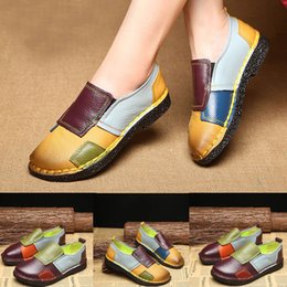 49bfcd717 2019 new Women's Soft Bottom Multicolor Flat Casual Shoes Round Head Dance Shoes  Europe fashion Quality Guaranteed Hot Sale