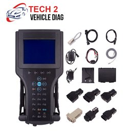 diagnostic scanner saab gm tech2 Australia - 2018 for GM Tech2 diagnostic tool for G-M SAAB OPEL SUZUKI ISUZU Holden for gm tech 2 scanner Car diagnostics black plastic box