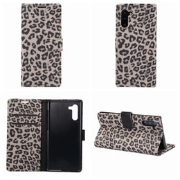case for samsung galaxy leopard NZ - Leopard Wallet Leather Case For Iphone 11 XR XS MAX X 8 7 6 Galaxy S20 Note 10 Pro S9 S10 S10e Animal Pocket ID Card Box Phone Cover Luxury