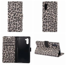 $enCountryForm.capitalKeyWord NZ - Leopard Wallet Leather Case For Iphone XR XS MAX X 10 8 7 6 Galaxy Note 10 Pro 9 8 S9 S10 S10e Animal Pocket ID Card Box Phone Covers Luxury