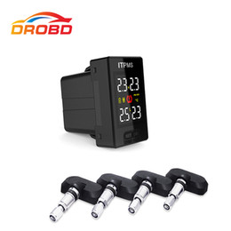$enCountryForm.capitalKeyWord Australia - Diagnostic Tool Careud U912 Tyre Pressure Monitoring System Car TPMS PSI BAR with 4 Internal Sensors LCD Display For Japan cars