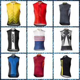 $enCountryForm.capitalKeyWord Australia - MAVIC team Cycling Sleeveless jersey Vest Breathable Cycle Clothing Quick-Dry Bike shirts Mans sleeveless Cycling Vest Comfortable Top 51751
