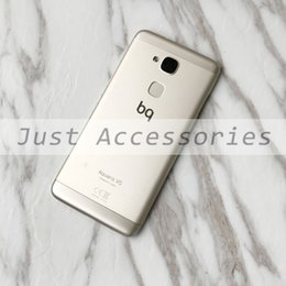 Id cables online shopping - used Battery Back Cover Housing Fingerprint Scanner Sensor ID Flex Cable button Back Frame Spare Parts For BQ Aquaris VS