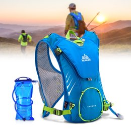 Hydration Backpack Running Australia - Lightweight Running Backpack Outdoor Sports Cycling Hiking Bag With Optional 1.5L Hydration Water Bag For Riding Mountaineering