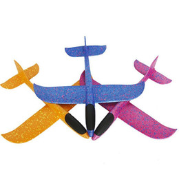 Gift Throw UK - .48cm Foam Throwing Glider model Air Plane Inertia Aircraft Toy Hand Launch Airplane Model To glide the plane Flying Toy for Kids Gift