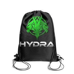 $enCountryForm.capitalKeyWord Australia - Drawstring Sports Backpack Hydra Video Game Sign Cool Durable Sack Pouch Travel Fabric Backpack