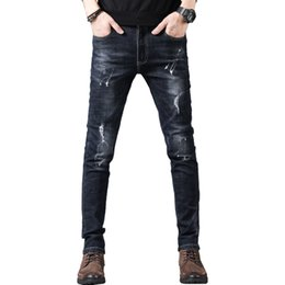 $enCountryForm.capitalKeyWord NZ - New jeans Men modis men clothes 2018 skinny trousers black streetwear vaqueros ripped homme for Autumn Winter Jeans male
