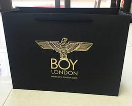 Neue In gleichen Tasche Marke BOY Tide Absatz Papier-Einkaufstüte weiblich Trageverpackungsbeutel Zähler im Angebot