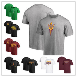 Devil camp online shopping - Arizona State Sun Devils Short Sleeve T Shirt Primary Team Logo Sideline Ultimate Performance climalite T Shirt