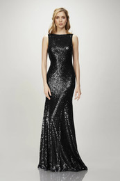 Floor length black silk robe online shopping - Bling Gold Sequins Mermaid Prom Dresses Quinceanera Dresses Backless Evening Gowns Long Formal Cocktail Party robes de soirée