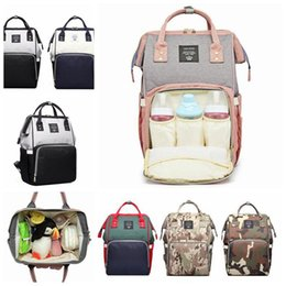 BaBy changing Backpacks online shopping - 9 Styles LEQUEEN Mummy Backpack Multifunctional Baby Camouflage Diaper Backpack Mommy Changing Bags Outdoor Bags Diaper Bags CCA11054