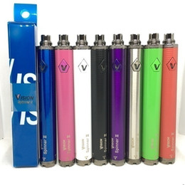 $enCountryForm.capitalKeyWord Australia - Vision spinner 2 1650mah ego Twist Variable Voltage battery 510 thread Electronic cigarettes spinner II Vape pen batteries