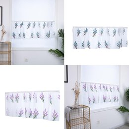 swag curtain purple Australia - 1Pcs Curtain Swags Net Curtains Covering Door Modern Curtains for Living Dining Room Bedroom Blackout tulle