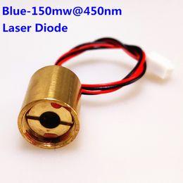Stage Parts Australia - AUCD 1Pcs Blue-150mw@450nm 5.5V 138mA Copper Head Laser Model Parts for Z SL Style Mini DJ Projecter Stage Lighting - Laser Diode