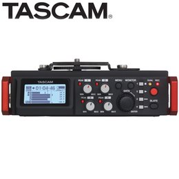 Camera Recorder 4gb Australia - TASCAM DR-701D 6-Track Field Recorder audio recording for DSLR camera video applications HDMI interface timecode