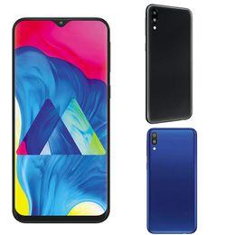 1g Ram Gps Australia - 6.22inch Goophone M10 fingerprints quad core android 8.0 MT6580P smartphone 1G RAM 4G ROM 800MP camera GSM WCDMA cellphone GPS WIFI