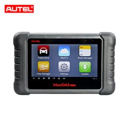 China AUTEL MaxiDAS DS808 KIT Tablet Diagnostic Tool Full Set Support Injector & Key Coding DS808K suppliers
