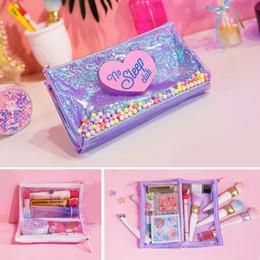 Wholesale Makeup Artist Bags Australia - Travel Makeup Cosmetic Case Organizer Portable Artist Storage Bag Digital