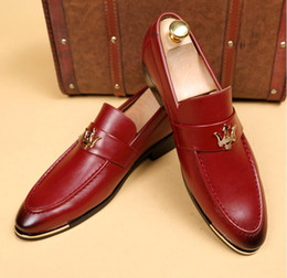Red Man Dresses Australia - To promote NEW red cusp leather shoes Men's dress shoes Male Business shoe Top quality brand designer shoes for men Wedding