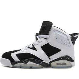 c4c663ecbc26ca Cheap Mens Retro 6s basketball shoes for sale Oreo Black Infrared chameleon  Green Glow AJ6 Jumpman VI air flights sneakers J6 size 40-46
